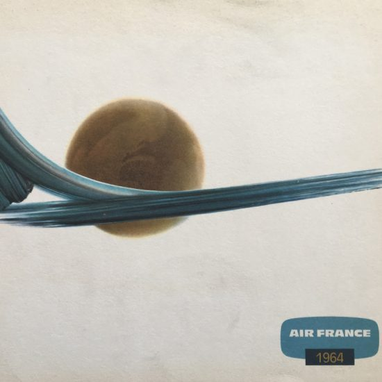 Campagne 1964 AIr Frnance the world largest airline 1964