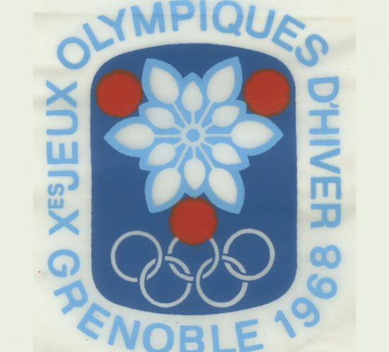 Logo Jeux Olympiques Grenoble 1968 - Roger Excoffon