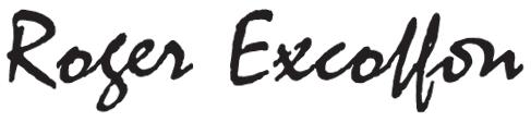 Roger Excoffon,créateur de caractères typographiques, affiches, artiste-peintre des années 50, 60 et 70