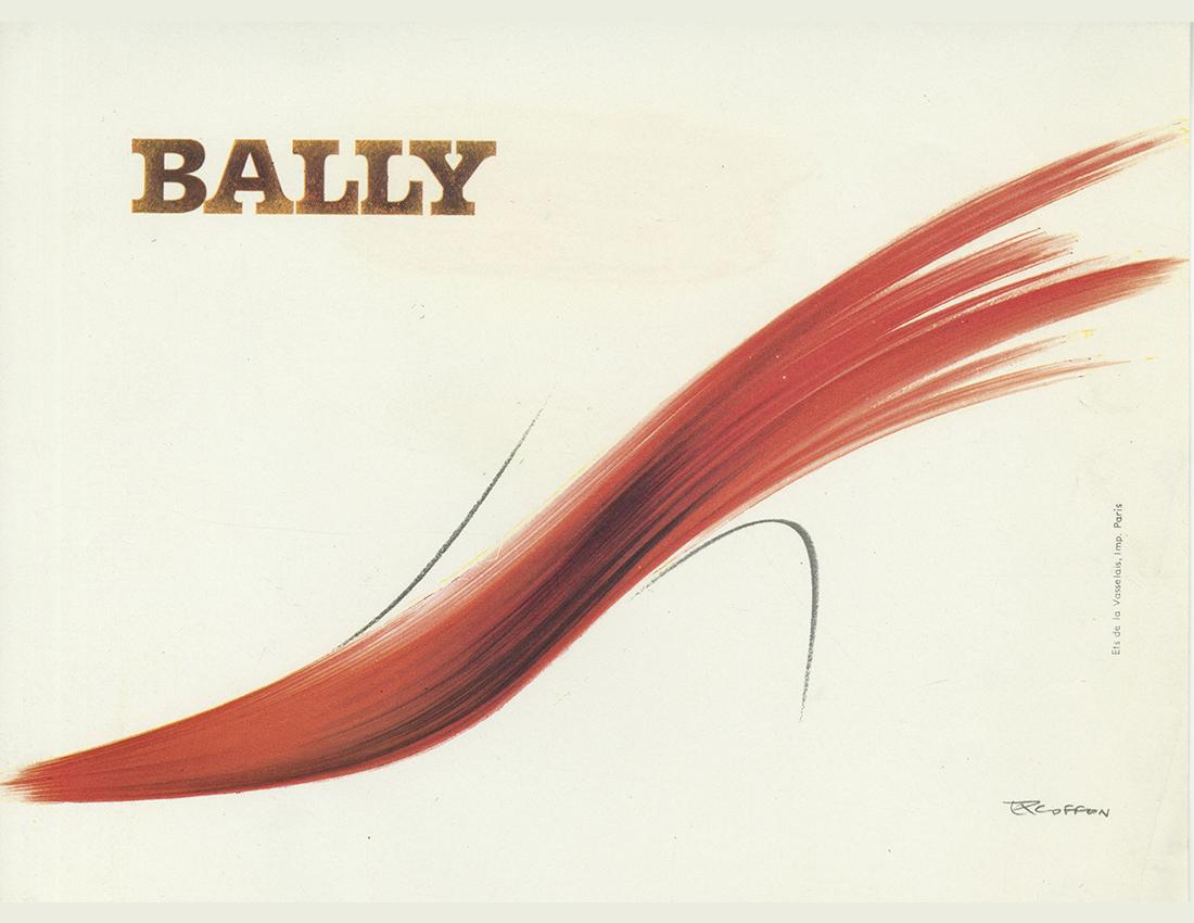 Affiche Bally, 1964, Roger Excoffon