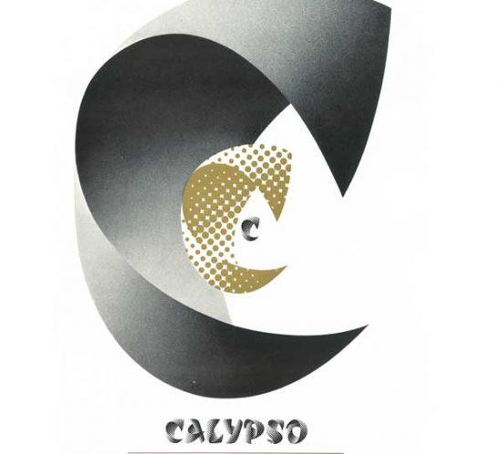 Annonce presse, première présentation du caractère Calypso, Caractère Noel 1957