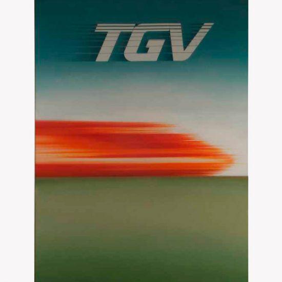 Roger Excoffon proposition TGV SNCF
