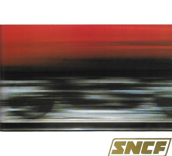 SNCF - Affiche Vitesse - Excoffon