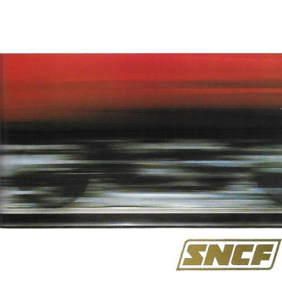 Affiche vitesse pour la SNCF en 1968 - Roger Excoffon