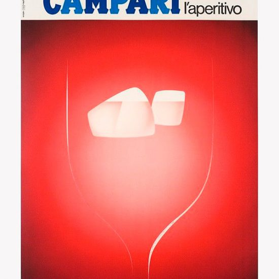 Affiche Campari l'Aperitivo 1967 - Roger Excoffon 1974