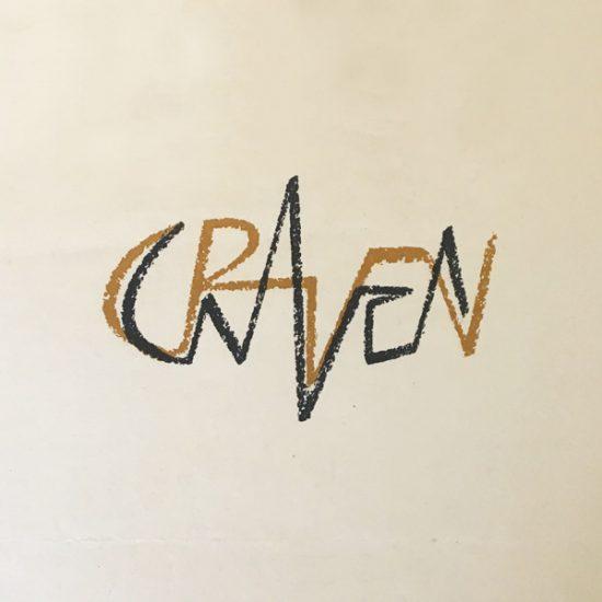 Logo pour la galerie d'art Craven, 1953 - Roger Excoffon