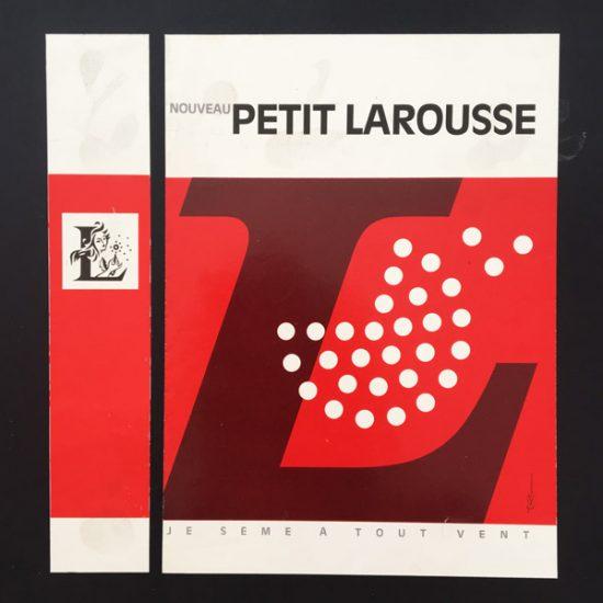 Projet de couverture Petit Larousse, 1978 - Roger Excoffon