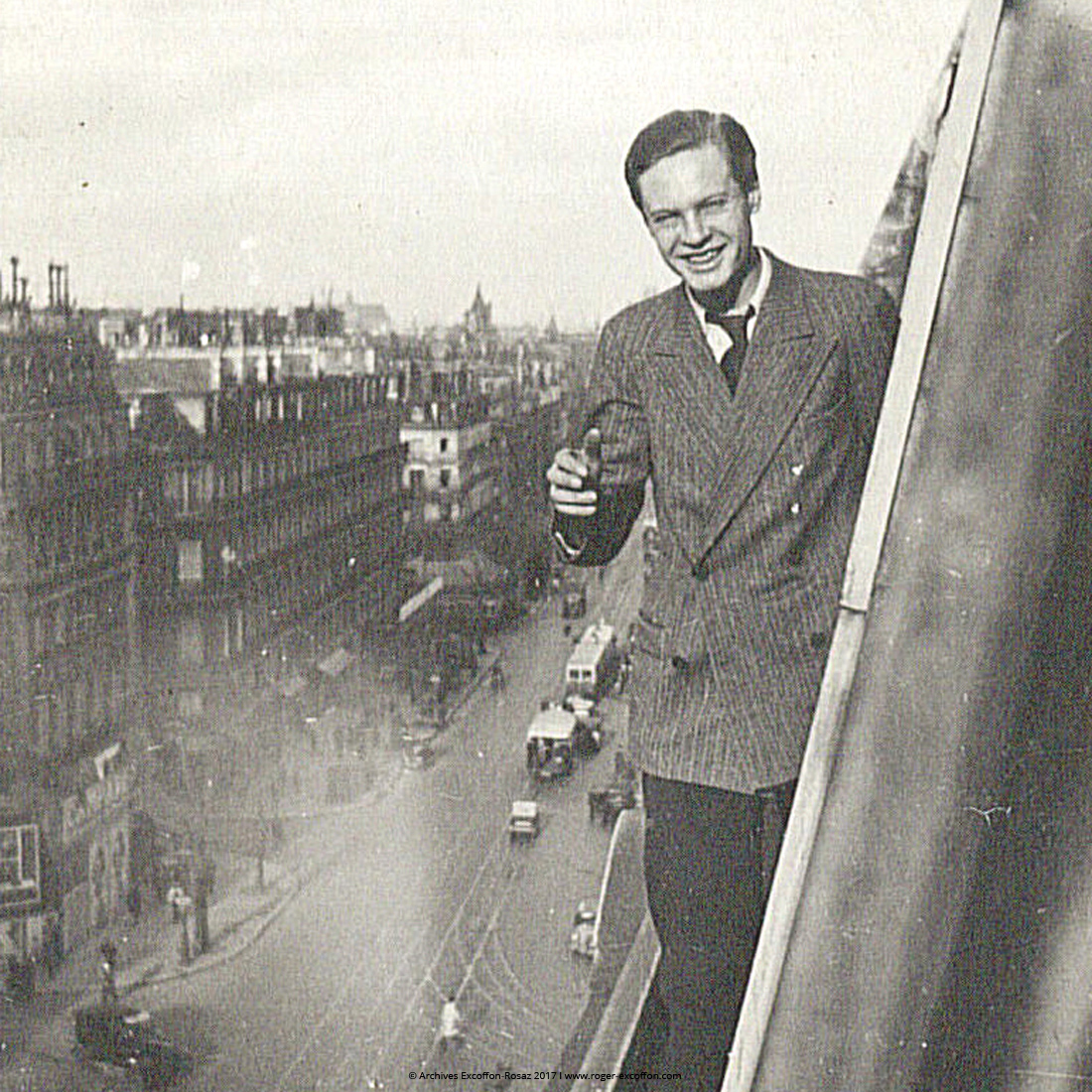 Roger Excoffon 1930 portrait photo